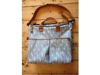 Skip Hop Duo Special Edition Blueprint Stripe Changing Bag