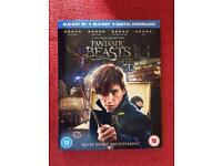 Fantastic beasts Blu Ray 3D