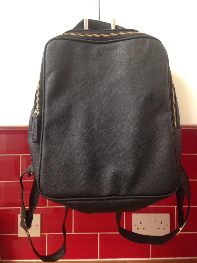 Faux Leather backpack, good condition