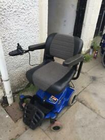 Electric Wheelchair Travel and indoor
