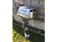 Honda 2hp boat outboard engine motor