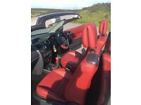 Renault Megane convertible,Quartz gold,full red leather,pan roof..