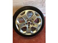 """Ford Mondeo 18"""" Alloy Wheel and tyre"""