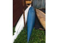 4 old canoes/ kayaks - in good working order