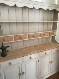 Solid pine dresser shabby chic SOLD