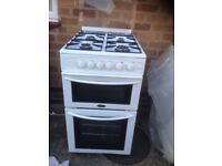 belling gas cooker in really nice clean condition,comes with fittments ie baynet conection pipe.