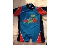 Zoggs Zoggy swimfree floatsuit 1-2 years