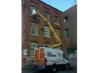 MCR PLATFORMS 14.5M (50FT) Cherry Picker & Operator For Hire. Covering The North West