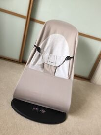 Great Condition Babybjorn Bouncer Beige/Light Grey
