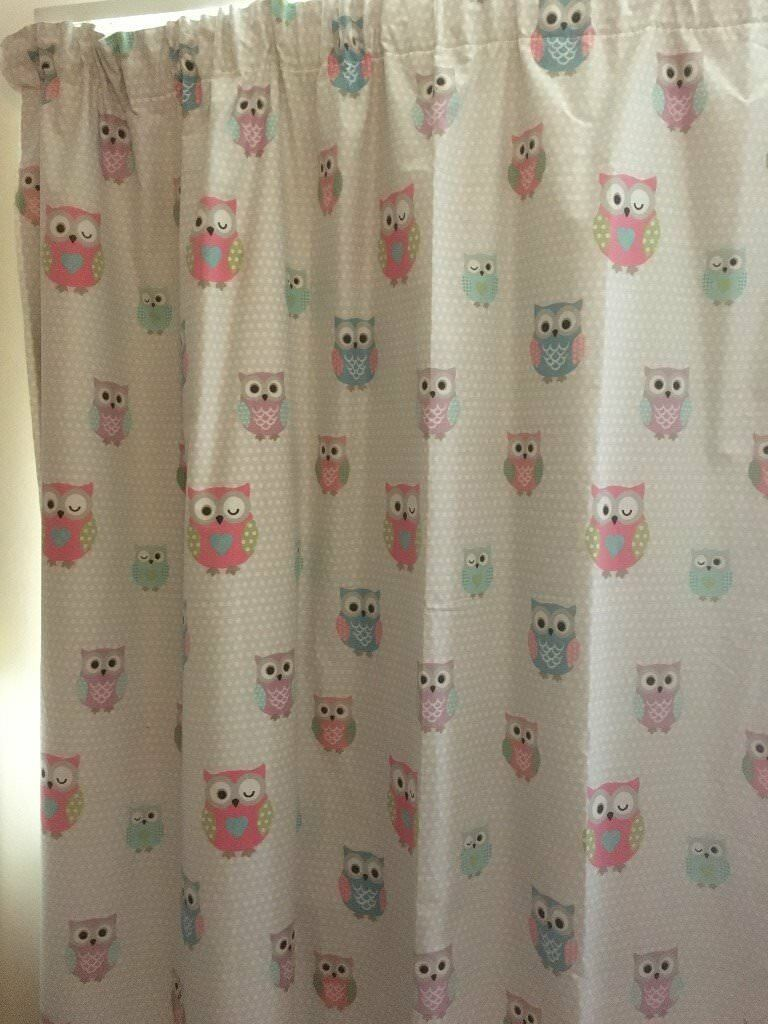 Girs Bedroom Owl curtains, From Dunelm | in Abingdon, Oxfordshire ...