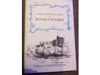 I NEVER KNEW THAT ABOUT THE RIVER THAMES HARDBACK BOOK *NEW*