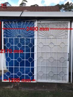 Security Screens and Sliding Door