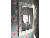 Vintage Style Mirror Dresser and Chair