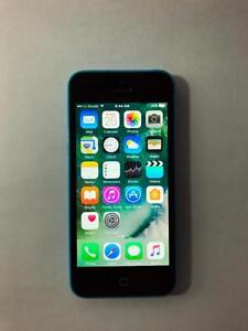 TELUS/KOODO Blue 8GB iPhone 5C (A- Condition) -- BUY LOCAL!! -- [3408]