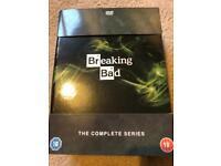 Breaking bad dvd boxset