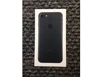 New iphone 7 black 128gb