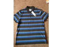Brand new Lacoste polo tshirt