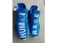 Adidas human race trainers size 6