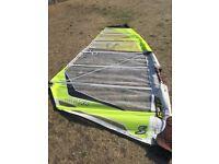Simmer SCS 7.5m windsurfing sail