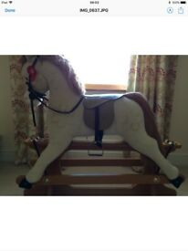 Merry thought rocking horse