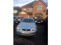 BMW 320D 2006 56 PLATE IN SILVER LOOKS AND DRIVES LIKE BRAND £1995