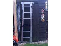 Youngman combi 100 ladder 3 tier
