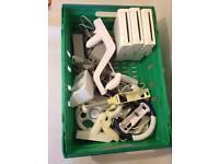 3 wii consoles and accessories