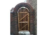 Garden gates wooden gates timber gates