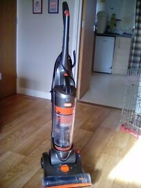 Vax Hoover with extension pipe and crevice tool. High,Low carpet and hard floor good working order