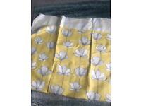Cotton&linen fabric remnant 1.6m x 1.37m