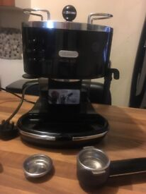 Delonghi Coffee Maker with frothing function