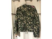 SUPERDRY Ladies camouflage jacket Small