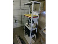 Heavy duty steel shelving shelf shelves