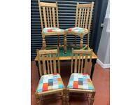 Table and 4 chairs £70 free Edinburgh delivery