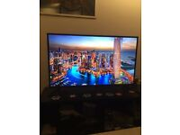 "SAMSUNG 40"" 4K TV JU6000 6 Series Flat UHD Smart LED TV"