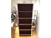 5-shelf wooden bookcase / storage
