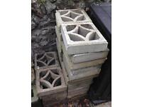 Concrete Screen blocks -34