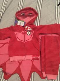 PJ Masks Owlette hoodie and joggers set 4T