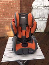 recaro kids seat