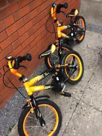 Two children's bikes