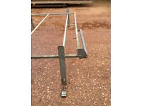 Galvanised roof rack for transit or similar