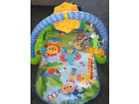 Fisher price kick and play play mat