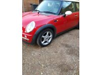 Mini Cooper low mileage