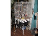 Cockatiel/Parrot cage in perfect condition used for 6 Hours is now back in box.