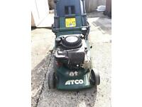 Atco admiral 16se petrol lawnmower, self propelled roller (Briggs and Stratton engine)