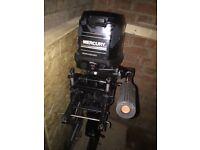Mercury 25hp longshaft outboard engine