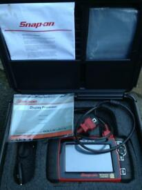SNAP ON SOLUS ULTRA DIAGNOSTIC SCANNER MACHINE 50TH ANNIVERSARY LIMITED ADDITION ONLY 200 MADE.
