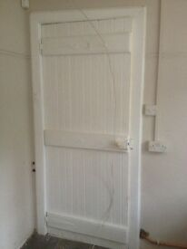 Cottage style white door for sale
