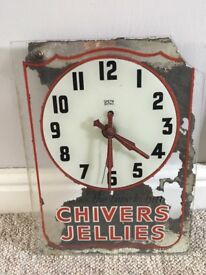 Chivers Jellies clock