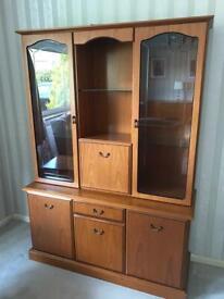 Display cabinet sideboard